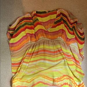 Colorful Swim suit cover up